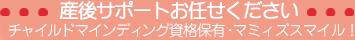ベビーシッターのマミィズスマイル | 東京のベビーシッター、産褥シッターならマミィズスマイル